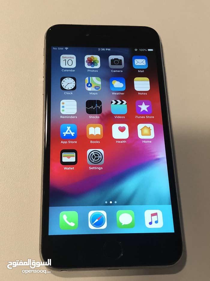 ايفون 6 بلس 64GB رمادي.