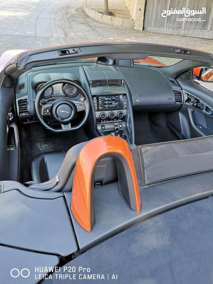 Automatic Jaguar F-Type 2015