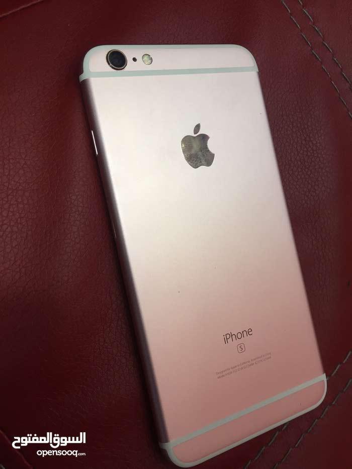 أيفون 6s+ لون روز 64 GB مستعمل