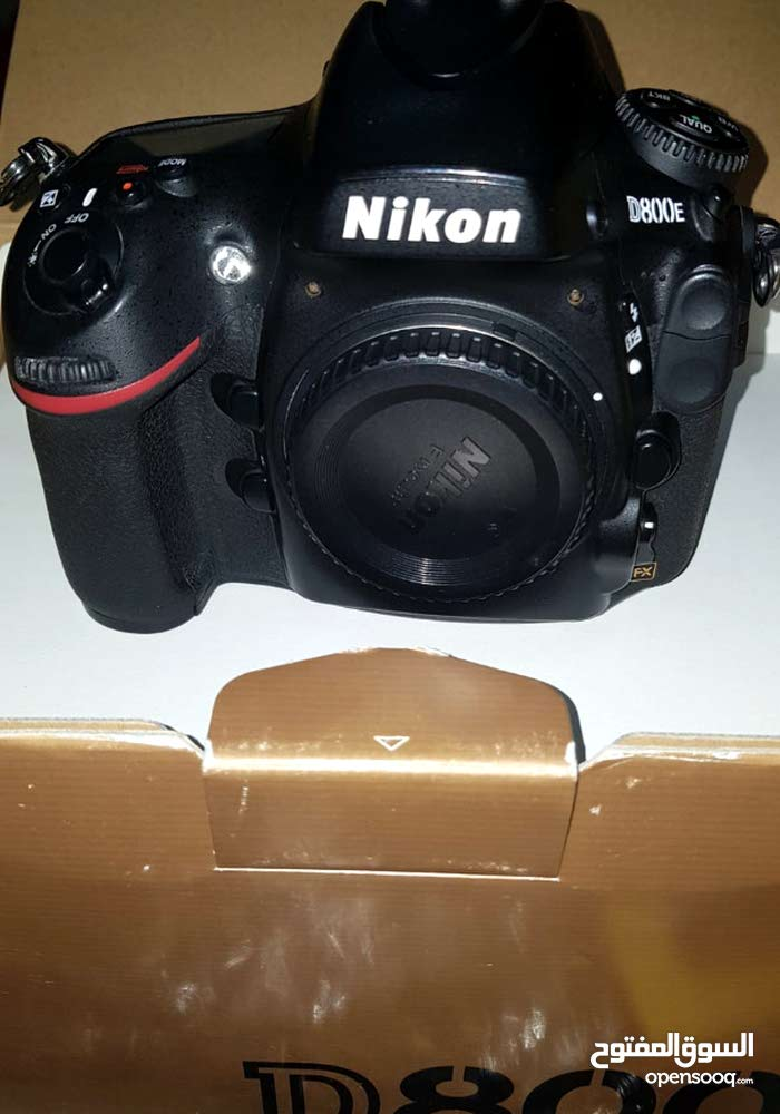 Camera Nikon D800E - Used, Body Only