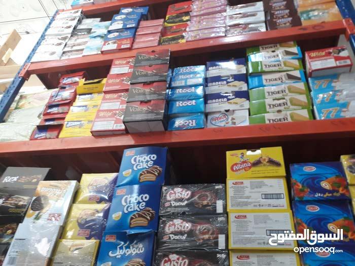 للبيع  كافة أنواع الحلويات والأجباس والعصائر  بلجمة بأرخص  الاسعار