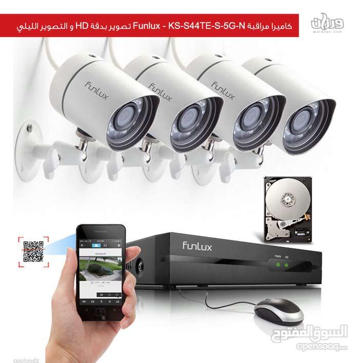 تركيب جميع أنواع الكاميرات واحدث الموديلات بطريقة فنية وبسعر مغري