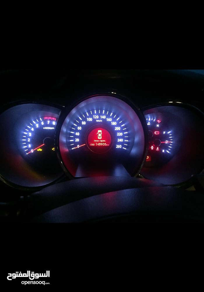 كيا أوبتيما 2012 سيارة الدار