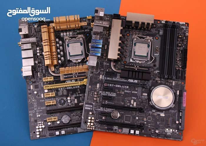 مطلوب لوحة Z87 او Z97 سوكيت 1150 الجيل الرابع