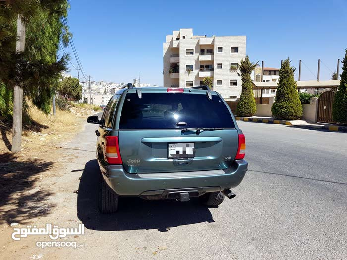 2002 Used Grand Cherokee with Automatic transmission is available for sale