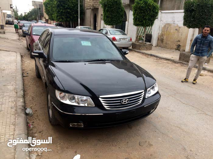Black Hyundai Azera 2007 for sale