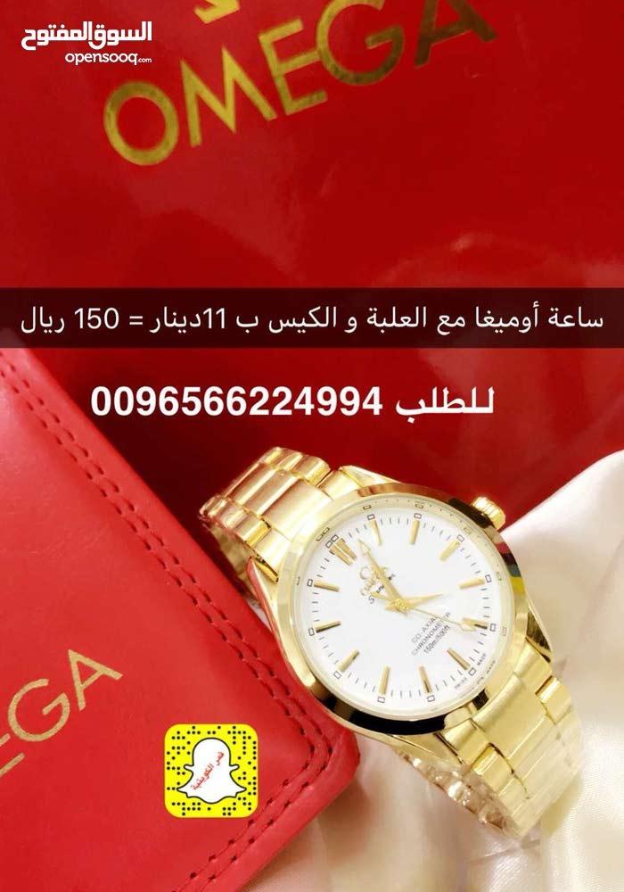 ad6568470fe15 ساعة أوميغا رجالية سعر ممتاز - (105348554)