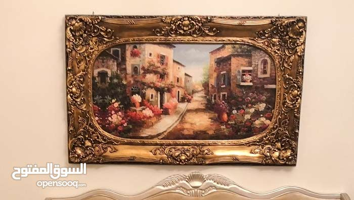big size wall painted frame