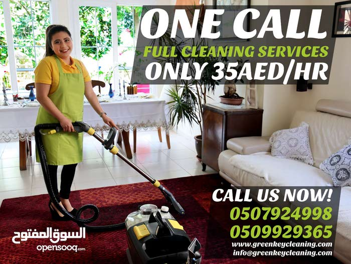 Best Maid Services in Dubai Green Key Cleaning Services