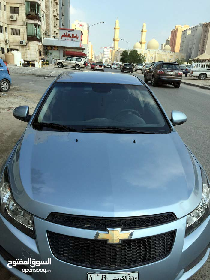 km mileage Chevrolet Cruze for sale
