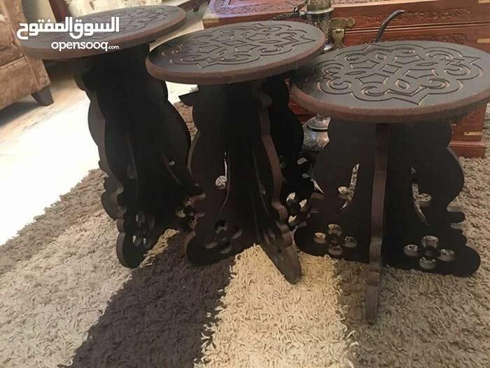 اطقم طاولات مزخرف3 قطع