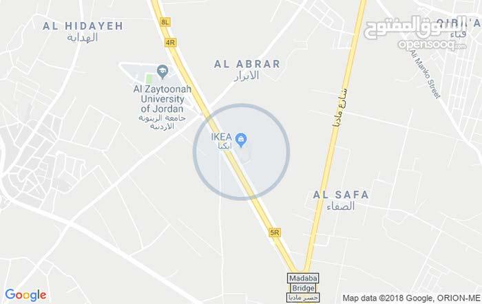 دونم ارض للبيع خلف جامعة الزيتونة تنظيم (أ)
