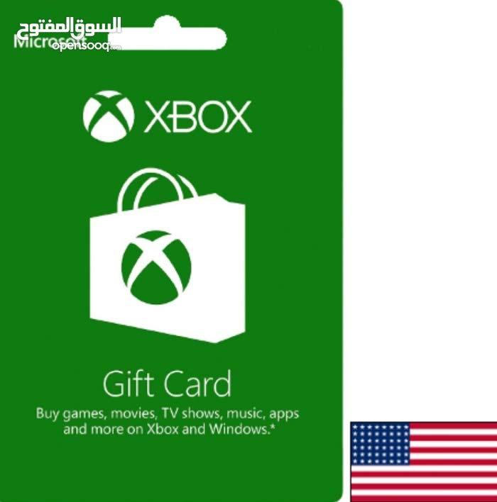 بيع بطاقات Xbox و اشتراك جولد للحسابات الأمريكية والخليجية