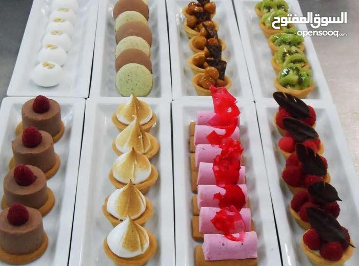 شيف حلويات عام خبرا 20 سنة اشتغلة في الخليج و فرنسا واطالي