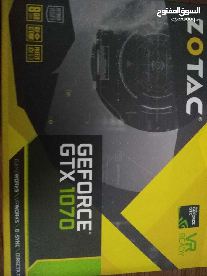 Zotac GTX 1070 8GB for sell Under warranty