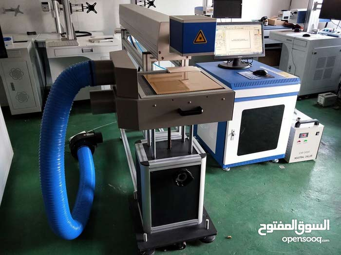 ماكينه ليزر CO2 laser marking machine
