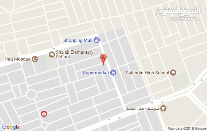 بيت للبيع في منطقة الشعب الشارع التجاري