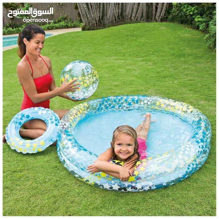 بركة سباحة للأطفال عمر سنتين فما فوق 59460 Intex قياس 1.22 م × 25 سم