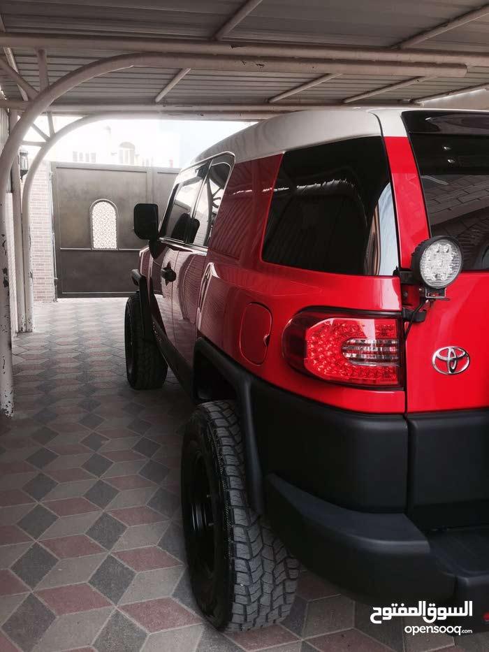 +200,000 km Toyota FJ Cruiser 2008 for sale