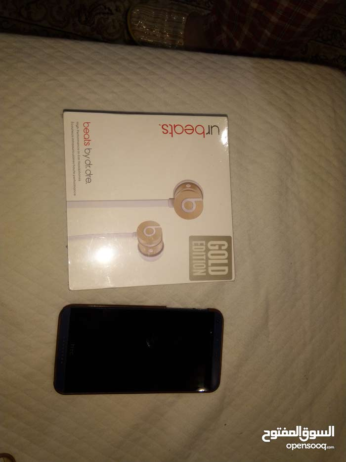 HTC 816 desire used + beats headphones gold edition unused