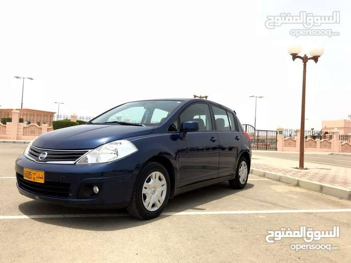 Used condition Nissan Tiida 2012 with 0 km mileage