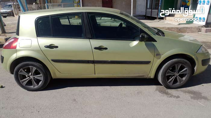 2004 Used Megane with Manual transmission is available for sale