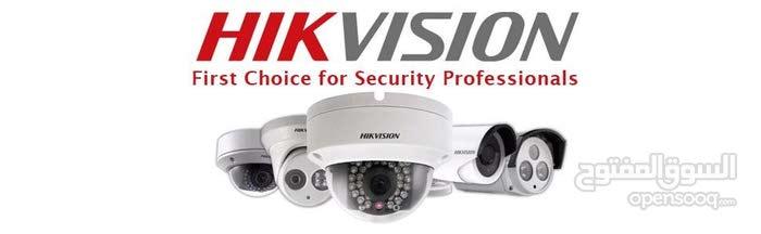 انظمة  كاميرات مراقبة Hikvision شامل التركيب