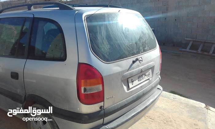 Manual Silver Opel 2002 for sale