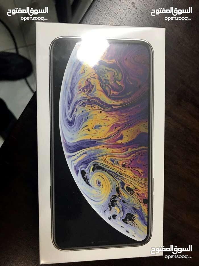 جديد ايفون اكس ماكس حجم 512 خطين لون ذهبي جديد وغير مفعل