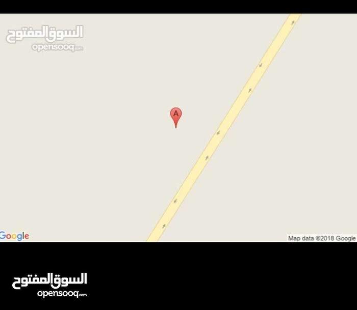 ارض للبيع في طريق طرابلس 67 هكتار في سبها