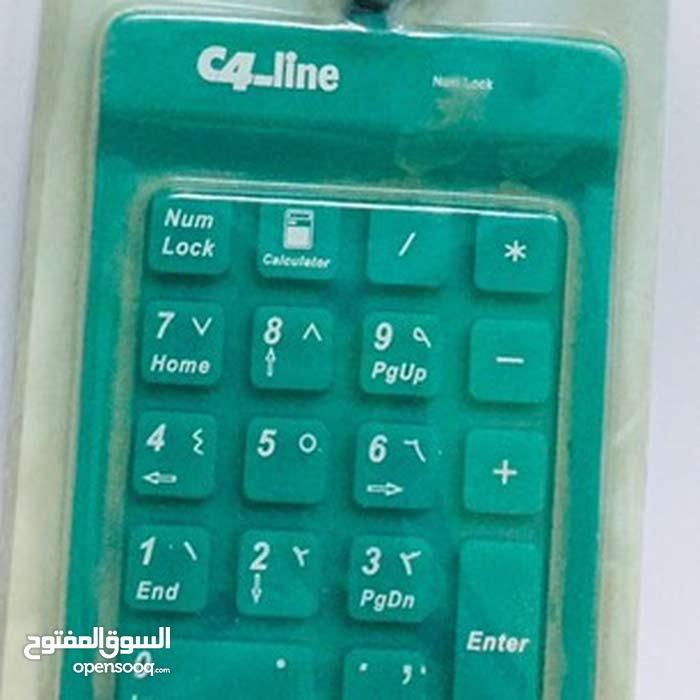 لوحة ارقام سيلكون 18 مفتاح usb