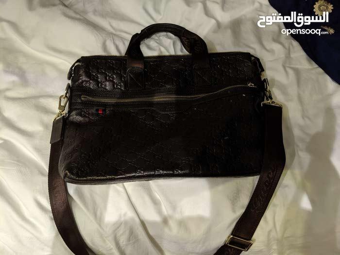 de3078644 Gucci laptop bag for men (original) شنطة قوتشي اصلي للاب توب. - (106207314)  | السوق المفتوح