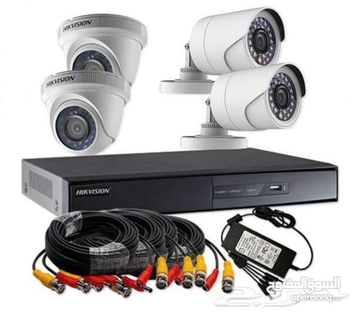 كاميرات مراقبة للمحلات مع شهاده للبلديه