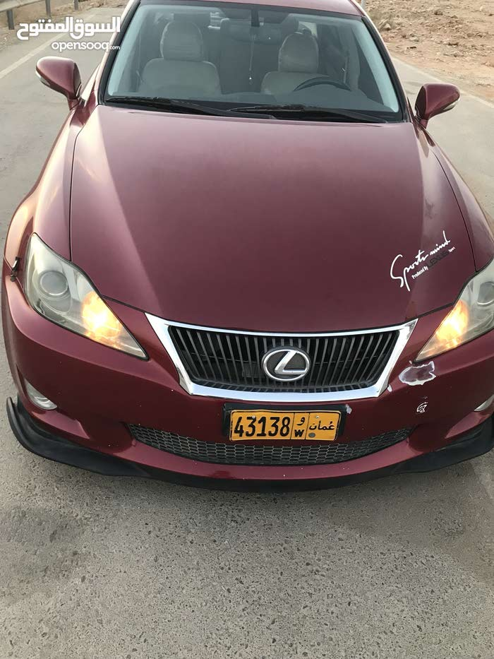 Red Lexus IS 2010 for sale