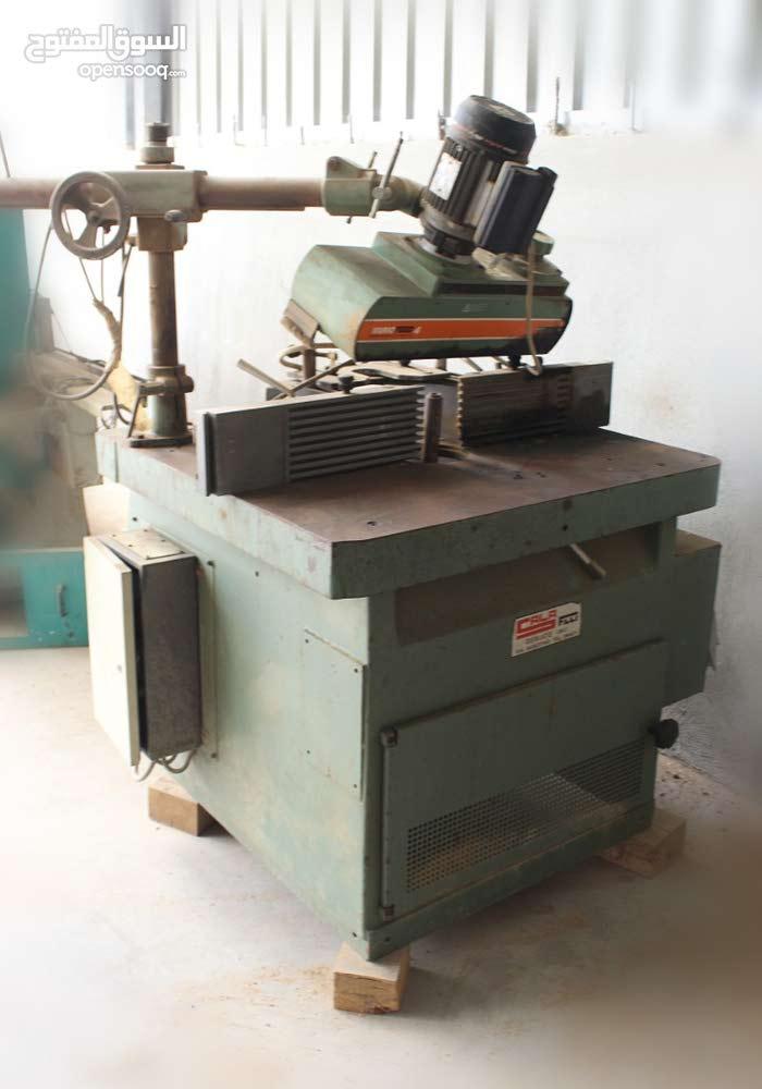 ماكينات نجارة ايطالي وتركي للبيع