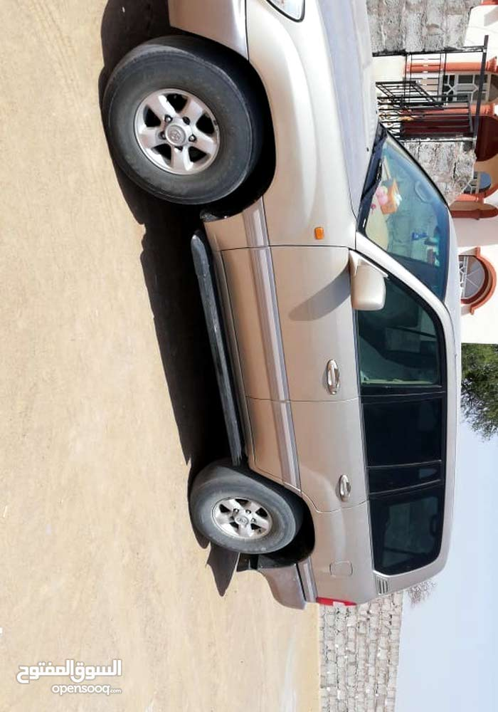 Gold Toyota Land Cruiser 2003 for sale