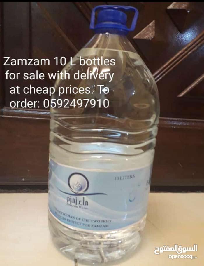المياه مختومة 100 ٪ الأصلي للبيع 10 لتر زجاجة Zamzam water for sale