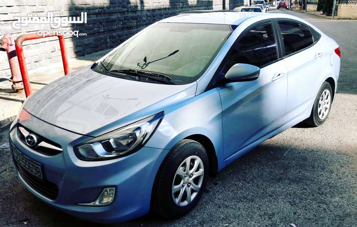 Automatic Hyundai 2013 for rent - Amman