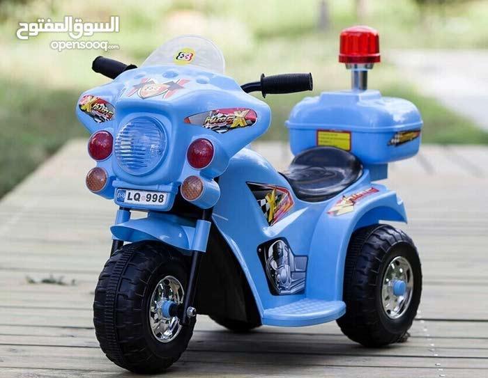 دراجة شرطة شحن مناسبة للأطفال من 2 الى 4 سنوات سعر خاص 28 دينار