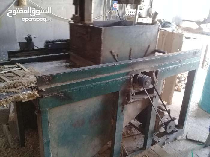 جاروشة خشب تصنيع النجارة للدواجن مع مسن للشفرات مع ماكينة قص للخشب مع شفاط 3 فاز