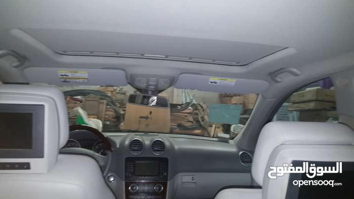 مرسيدس بنز ام ال 2008  كاملة المواصفات طلب خاص السيارة كاملة التحسين مقرطسسسس