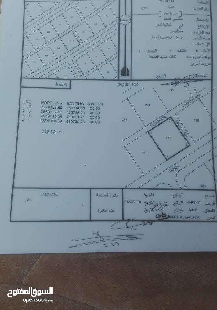 أرض سكنية خلف مدرسة محمد بن سليمان الغافري بالدريز