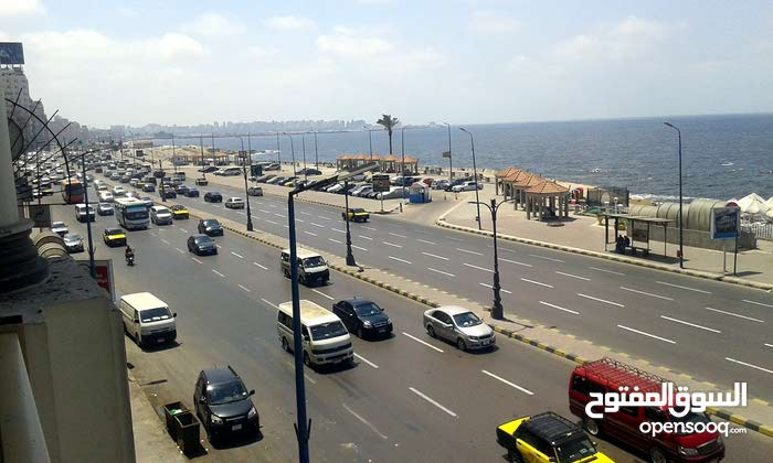 بمصر شقة تمليك مفروشه مباشرة كورنيش الأسكندرية 174 م 3 غرف 2 حمام