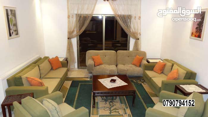 شقة مفروشة 192 م قرب دوار الشوابكه/مرج الحمام
