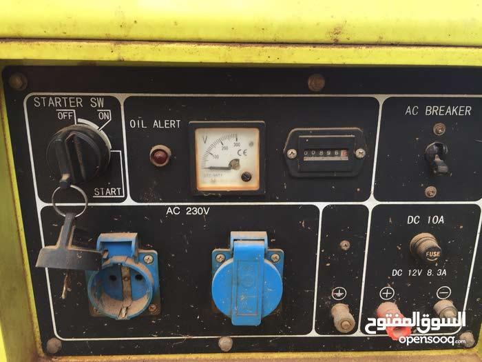 مولد كهرباء مستعمل استعمال نظيف 123456790