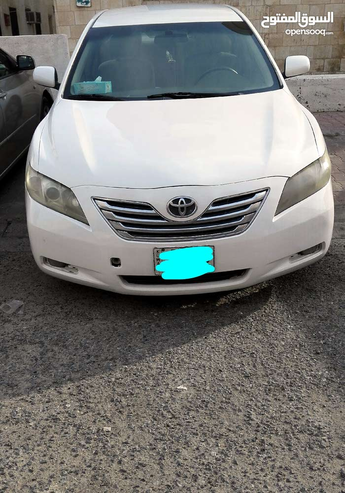 White Toyota Camry 2008 for sale