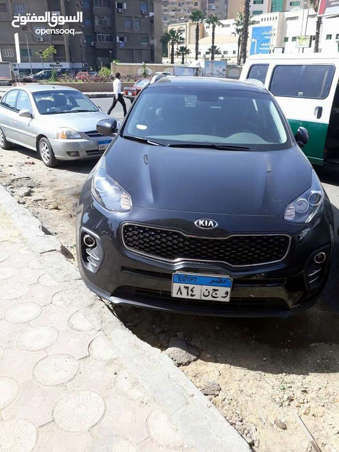 Automatic 2018 Sportage for rent