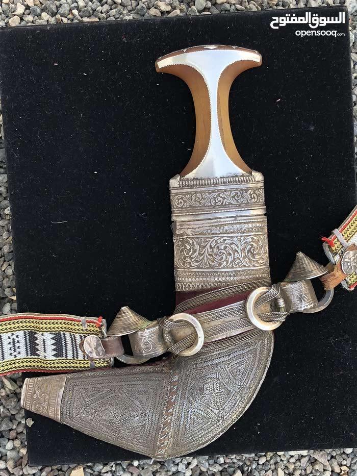 خنجر قرن زراف أفريقي اصلي حجم كبير