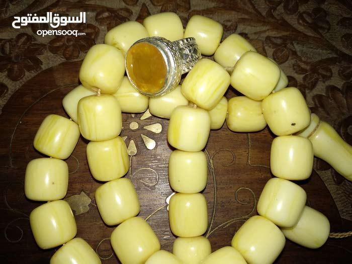 خاتم ياقوت أصفر افريقي عالي الجوده