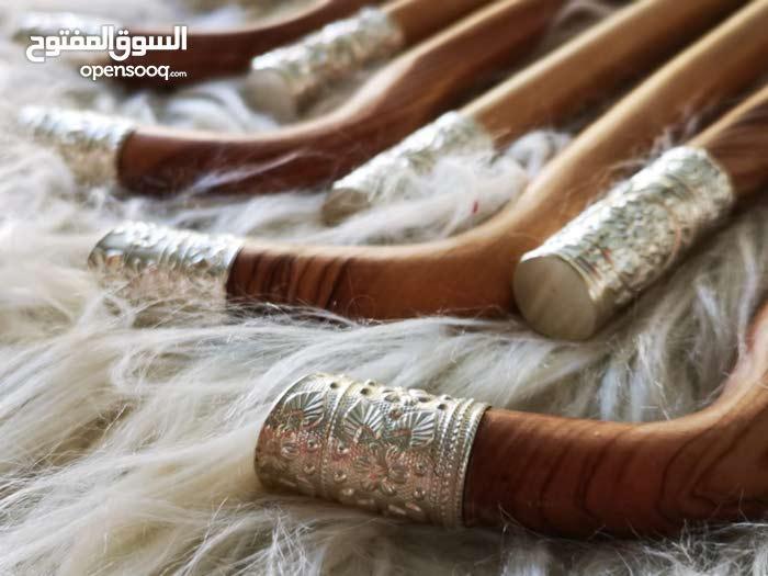 عصا عتم باكستاني بفضة عمانية ثقيلة